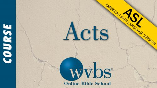 Acts (ASL)