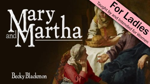 Mary and Martha Program