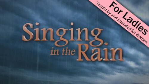 Singing in the Rain Program