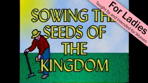 Sowing the Seed
