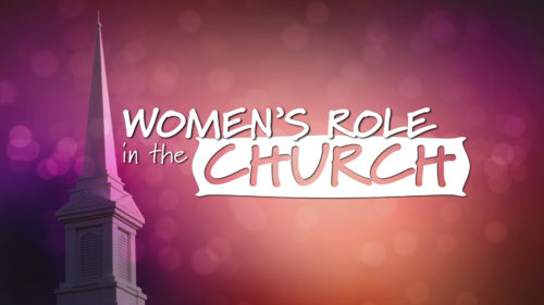 Women's Role in the Church