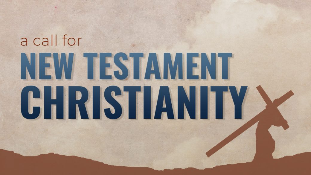 A Call for NT Christianity Program