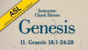 Lesson 11 | Genesis (ASL)