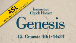 Lesson 15 | Genesis (ASL)
