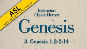 Lesson 3 | Genesis (ASL)