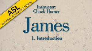 Lesson 1   James (ASL)