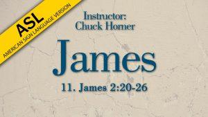Lesson 11   James (ASL)