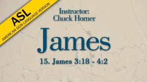 Lesson 15   James (ASL)