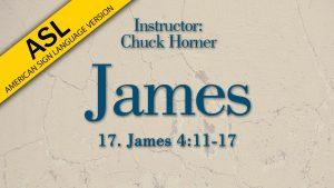 Lesson 17   James (ASL)