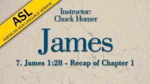 Lesson 7 | James (ASL)