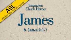 Lesson 8 | James (ASL)