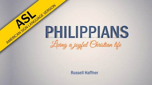 Philippians (ASL)