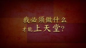 我必须做什么才能上天堂?(What Must I Do To Go To Heaven?) (Chinese - Simplified)
