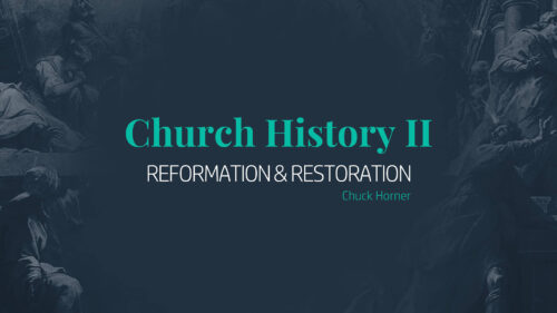 Church History 2 Program