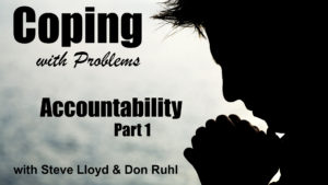 Coping with Problems: 13. Accountability (Part 1)