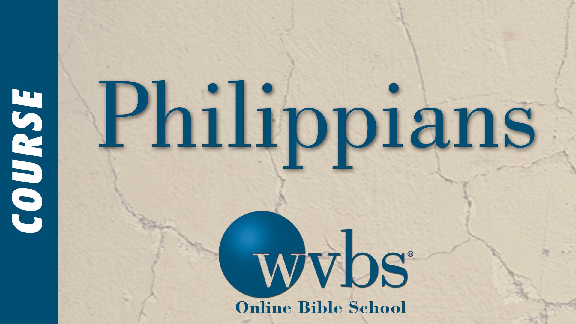 Philippians (Online Bible School)