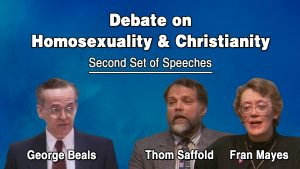 2. Homosexuality & Christianity | Beals-Saffold-Mayes Debate