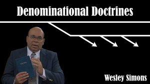 Denominational Doctrines