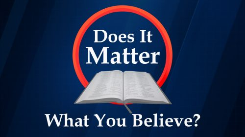 Does It Matter What You Believe?