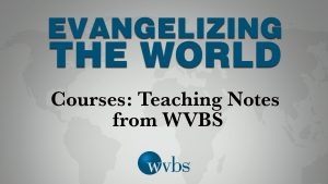 Courses: Teaching Notes from WVBS