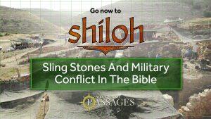 Bonus: Sling Stones and Military Conflict