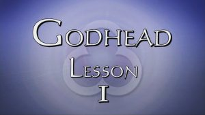 1. Introduction / God's Existence | Godhead