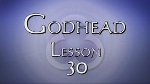 30. Justice Continued | Godhead