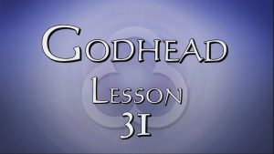 31. The Pre-Eisence of Jesus | Godhead