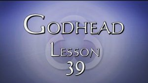 39. Holy Spirit Baptism | Godhead
