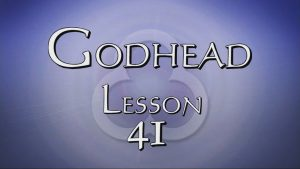 41. Sanctification Continued / Providence | Godhead