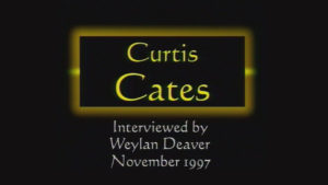 Interview with Curtis Cates by WVBS