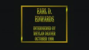 Interview with Earl Edwards by WVBS