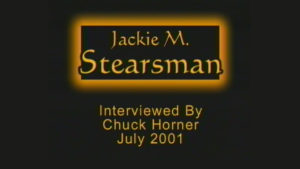 Interview with Jackie Stearsman by WVBS