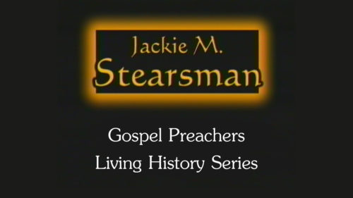 Jackie Stearsman | Gospel Preachers Living History Series