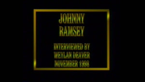 Interview with Johnny Ramsey by WVBS