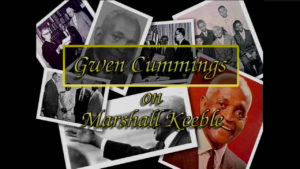 Interview with Gwen Cummings on Marshall Keeble by WVBS