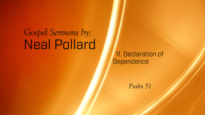 11. Declaration of Dependence