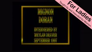 Mignon Doran | Interviews with Christian Women