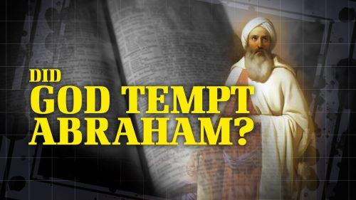 Did God Tempt Abraham?