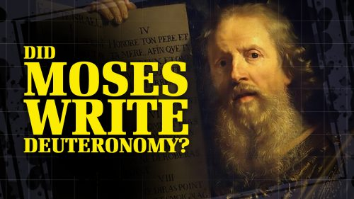 Did Moses Write Deuteronomy 34?