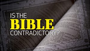 Is the Bible Contradictory?