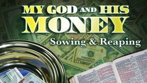 Sowing and Reaping | My God and His Money
