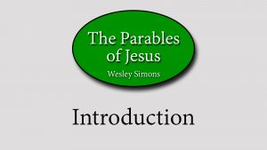 1. Introduction | Parables of Jesus