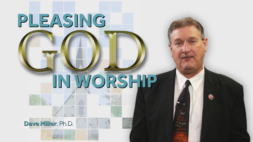Pleasing God In Worship Program.