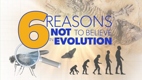 6 Reasons not to Believe in Evolution