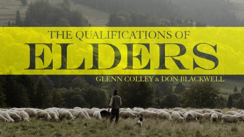 Qualifications of Elders