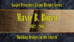 Building Bridges in Church | Sermon by Maxie Boren