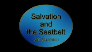 Sermons by Jim Dearman