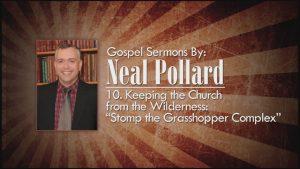 10. Stomp the Grasshopper Complex | Gospel Sermons by Neal Pollard (Volume 2)