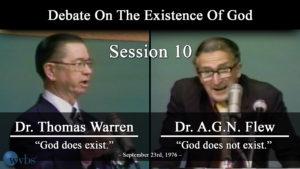 Session 10 (September 23) | Warren-Flew Debate